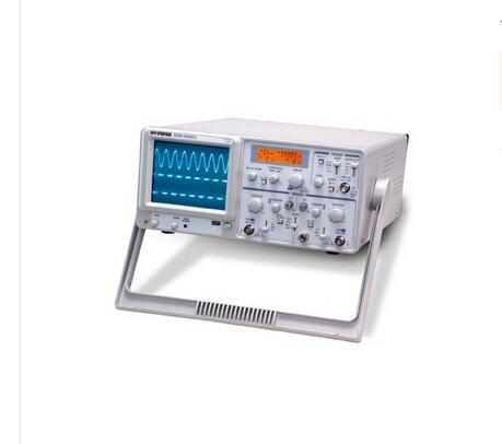 Gwinstek GOS-630FC 30MHz, 2-Channel, Analog Oscilloscope 3225 osc 3 2 2 5mm 30m 30mhz 30 000mhz