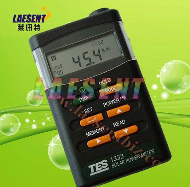 TES-1333 Solar Power Meter Solar Power Meters Digital Radiation Detector Solar Cell Energy Tester  цены