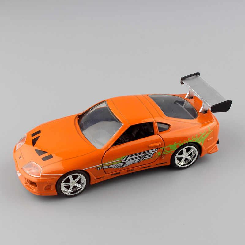 1:32 весы Брайана 1995 TOYOTA SUPRA Форсаж металл литья под давлением race модель мини коллекция street гоночных автомобилей игрушечные лошадки для детей