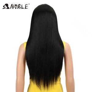 Image 4 - Nobile Capelli Sintetici Parrucca Ad Alta Temperatura 22 pollice 3 di Colore Lungo Rettilineo Parrucche Per Le Donne Parrucche Sintetiche Trasporto Libero