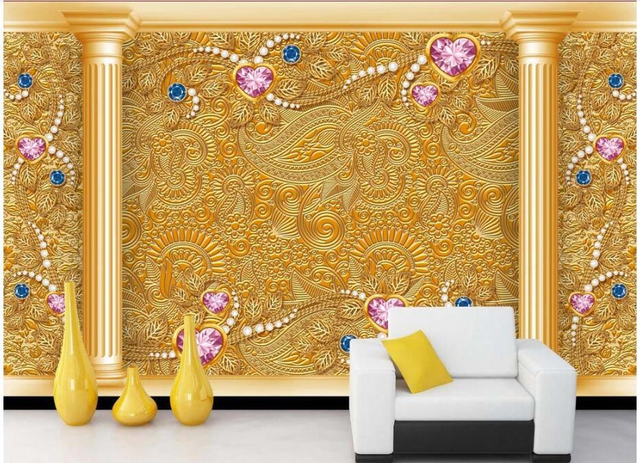 Custom photo 3d wallpaper Non woven mural European Roman