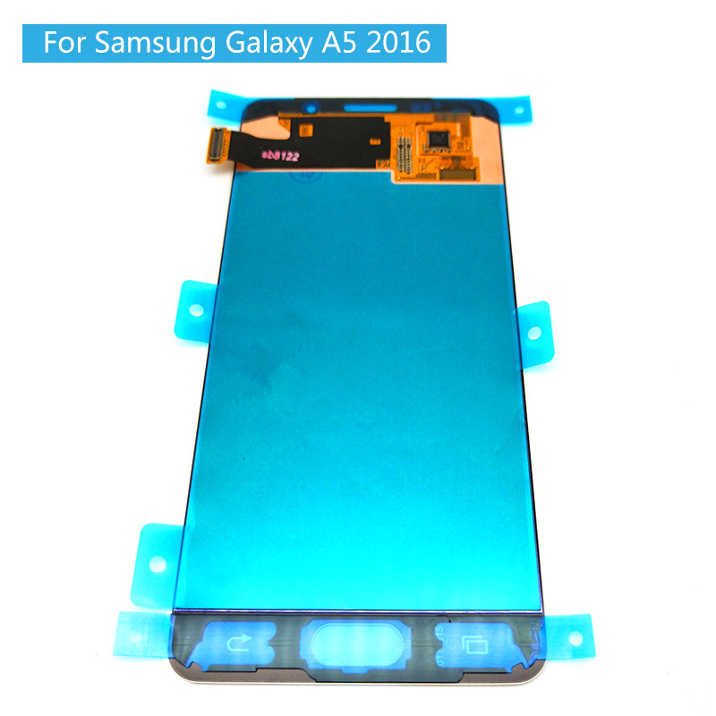 Original 5.2 AMOLED LCD for SAMSUNG Galaxy A5 2016 LCD Display A510 A510F A510M SM-A510F Touch Screen Digitizer LCD 100% TestedOriginal 5.2 AMOLED LCD for SAMSUNG Galaxy A5 2016 LCD Display A510 A510F A510M SM-A510F Touch Screen Digitizer LCD 100% Tested