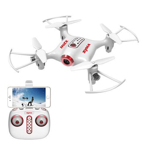 SYMA X21W WIFI FPV With 720P Camera APP Controller Altitude Hold Mode RC Drone Quadcopter RTF
