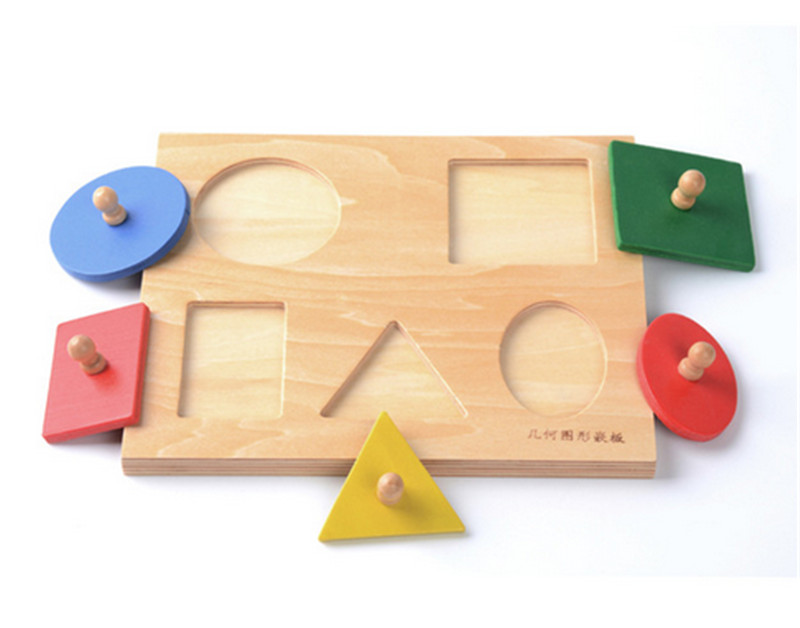 Aliexpress Com Buy New Wooden Baby Toy Montessori Shapes