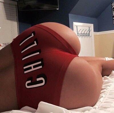 Sexy Women Brazilian Bikini Swimwear Bathing Beach Thong Ruched Scrunch Bottom Chill   Panties