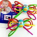Baby Without BPA SafetyTeething Toys Manhattan Winkel Rattle  Activity Rings Baby Owl Feeder Baby Products