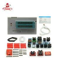 Caldo! TL866CS programmatore + 21 adattatori + IC clip di inglese russo manuale Ad Alta velocità TL866 AVR PIC Bios 51 MCU Flash EPROM Programmer