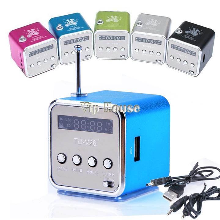 2014 fashion stereo mini speaker usb tf card mp3 music portable speakers fm radio digital. Black Bedroom Furniture Sets. Home Design Ideas