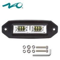 offroad accessories LED bar car 4x4 led work light 12v car led motorcycle light 4x4 led light bar Flood Lamp Fog beam 40W 1x NAO