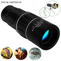 Telecope 16x52 Travel Monocular HD Dual Focus Zoom Optic Lens Lll Night Vision Tourism Scope High