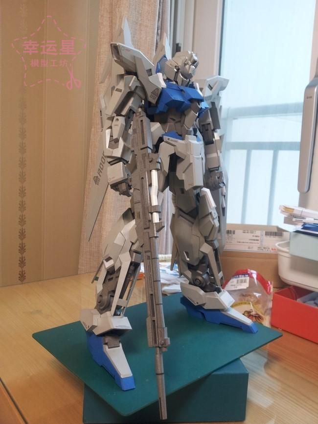 Positive Proportion Gundam Series MSN-001A1 DeltaPlus Gundam 3D Paper Model DIY Manual