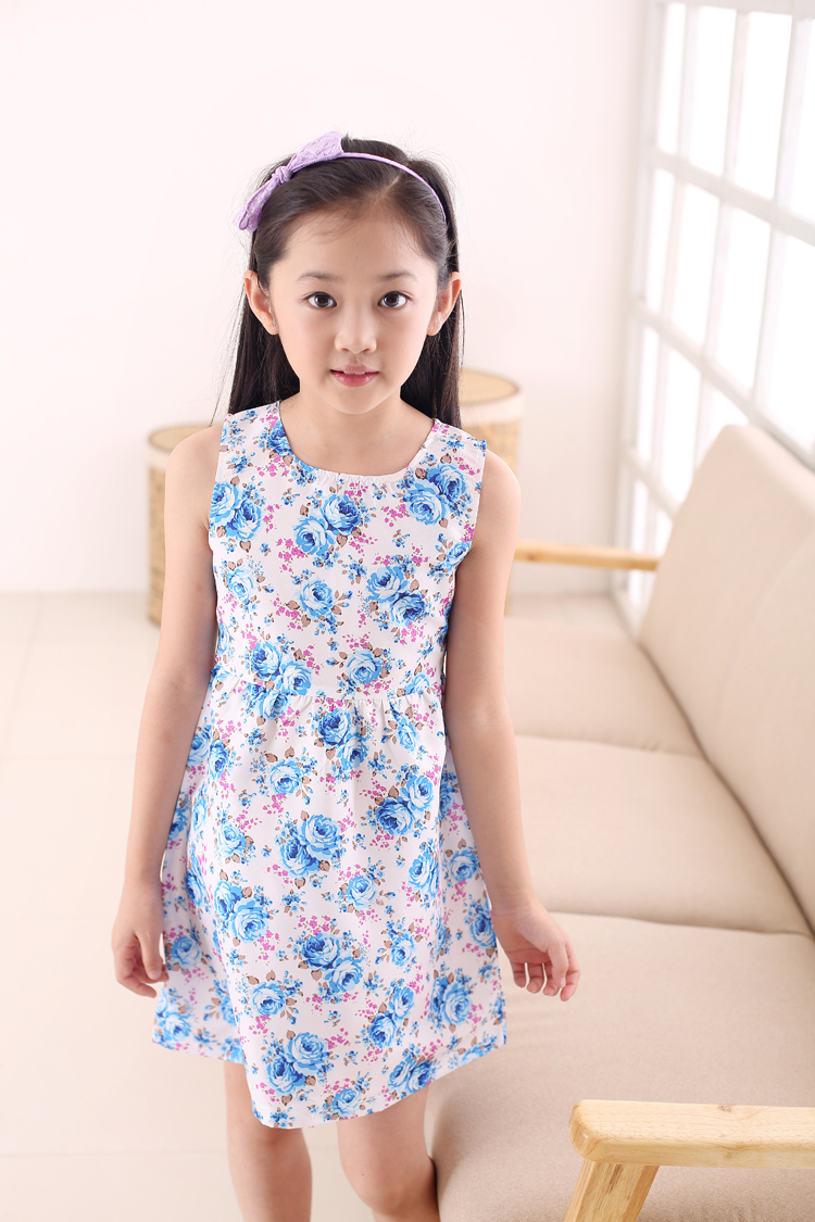 Summer dress Kids White Red Bow Trendy Flower Vestidos ...