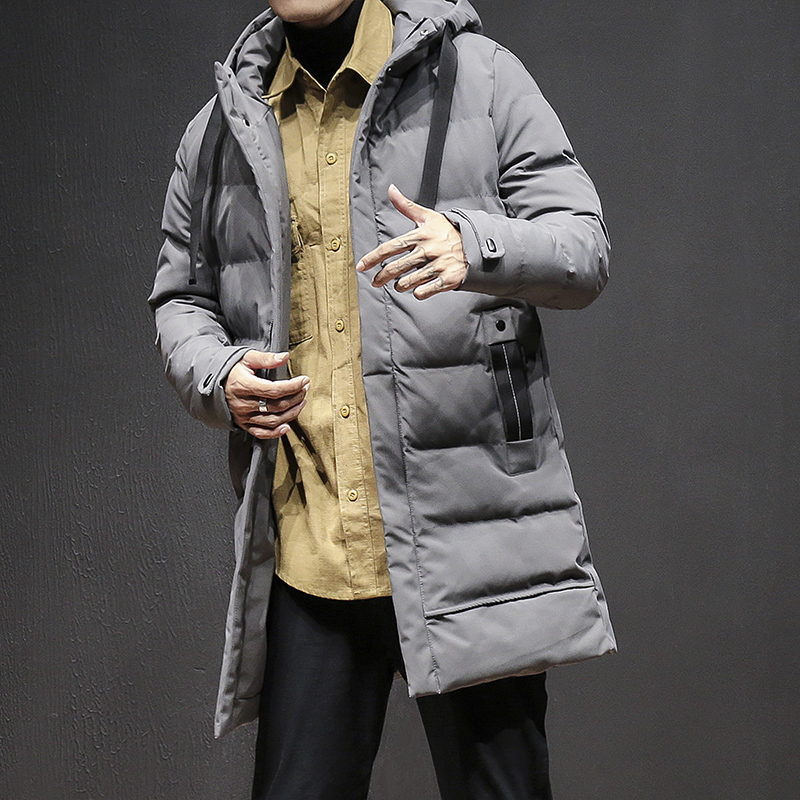 Jackets Men 2017 New Men's Casual Parkas Solid Thick Winter Jacket Men Hooded Warm Padded Overcoat Man Jaqueta Masculino Inverno winter men parkas casual jackets man hooded windproof thick warm outwear overcoat wadded coat style solid brand clothing