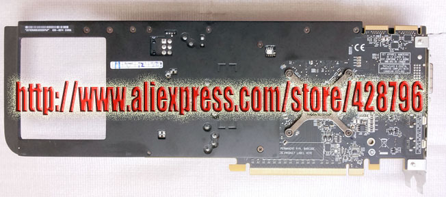 US $99 9 |109 C01657 01 Radeon HD 5770 1GB Graphics Video Card for Pro  A1186 Ma356 Ma970,A1289 Mc561,MC742ZM,639 0674,with Power Cable-in Demo  Board