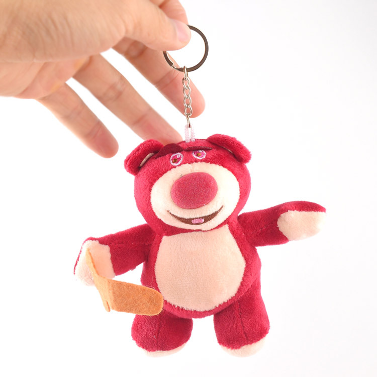 10cm Toy Story 4 LOTSO Plush Toy Keychain Figures Collection Model Pendant Toys for Children Birthday gift