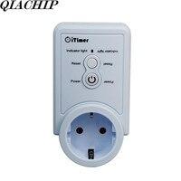 WiFi Smart Home Socket EU Plug Smart Plug Control App Timing Function Temperature AC 110V 220V