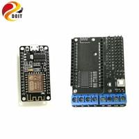 ESP8266 NodeMCU Development Kit NodeMCU Motor Shield L293DD Diy Rc Toy Wifi Smart Car Remote Control