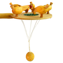 Wooden Toy Chicken Eat Rice  Wooden Toy
