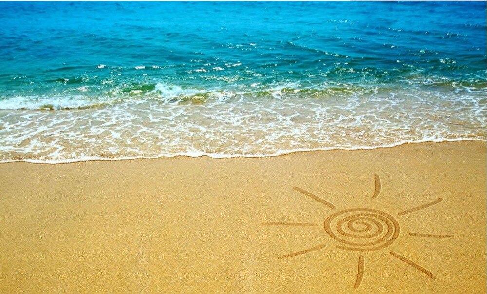 Sunshine beach background the image kid for Beachy floors