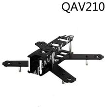 Mini 210mm 210 QAV210 180mm 180 QAV180 FPV Quadcopter Kit Quadro de Fibra De Carbono Puro para LS-210 Corrida Zangão