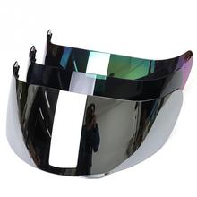tachable UV защищенный мотоциклетный передний откидной шлем Замена Козырька