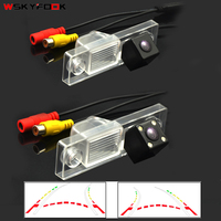 CCD HD LED سيارة الخلفية كاميرا لموقف السيارات ل sony CCD شيفروليه تشيفي جديد كروز كابتيفا ديناميكية مسار كاميرا للرؤية الليلية-في كاميرا مركبة من السيارات والدراجات النارية على