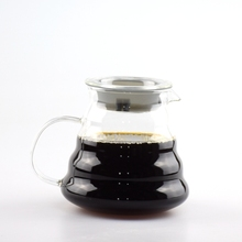 1 stück kostenloser versand espresso kaffee server glas kaffeekanne hario 500 ml kaffee server