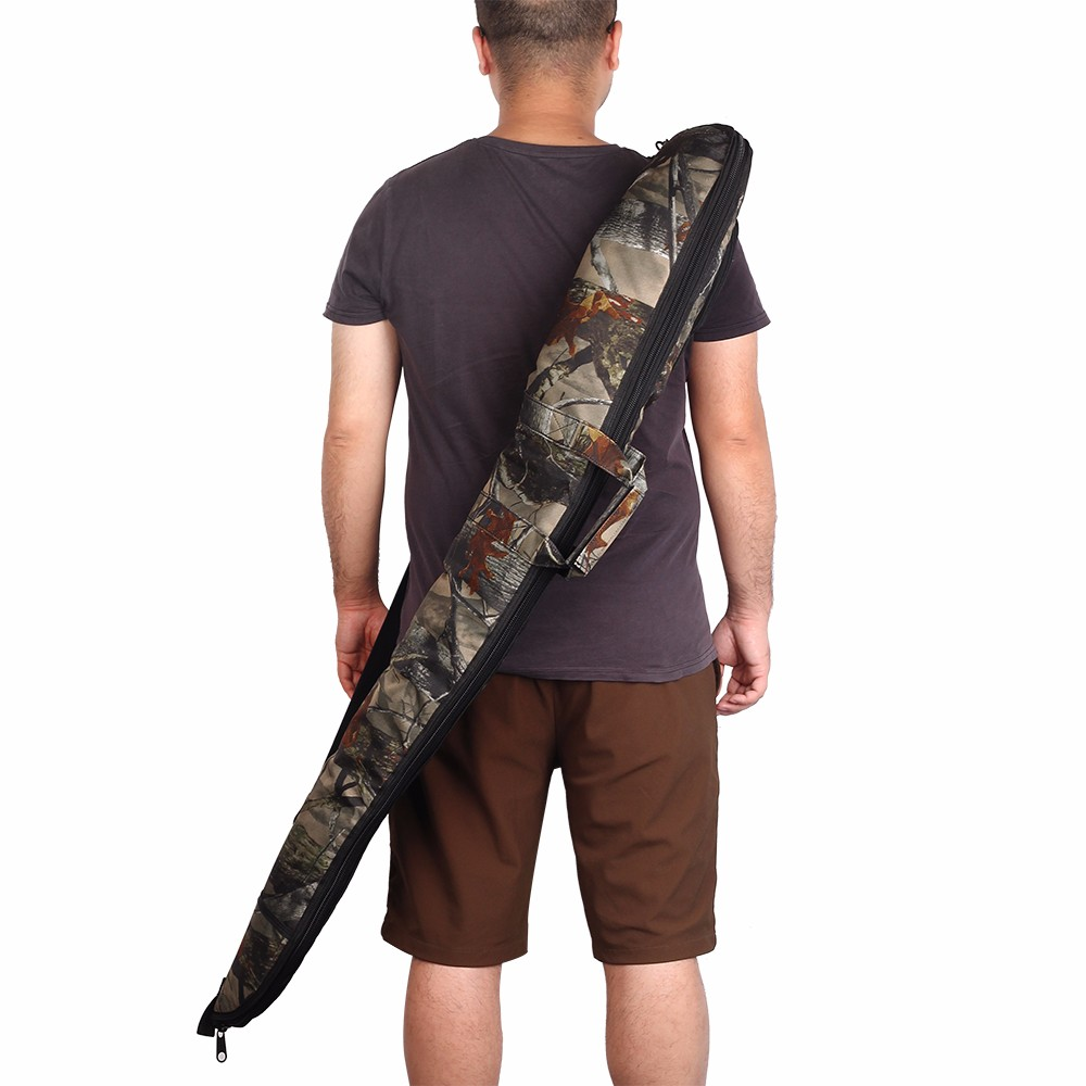 130cm Tactical Rifle Bag 600D Oxford Cloth Camo Military Hunting Gun Case Shoulder Strap Concealed Holster Accessories Pouch