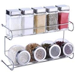 Набор кухонных бутылок для специй Приправа полка для специй 10 шт./компл.