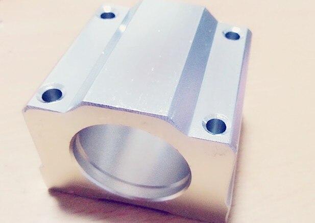 SC20UU SCS20UU только чехол для дома(без LM20UU внутри) для 20 мм линейный блок ЧПУ маршрутизатор DIY запчасти ЧПУ