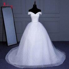 Jark Tozr Vestido de Noiva A-line Wedding Dresses 2019