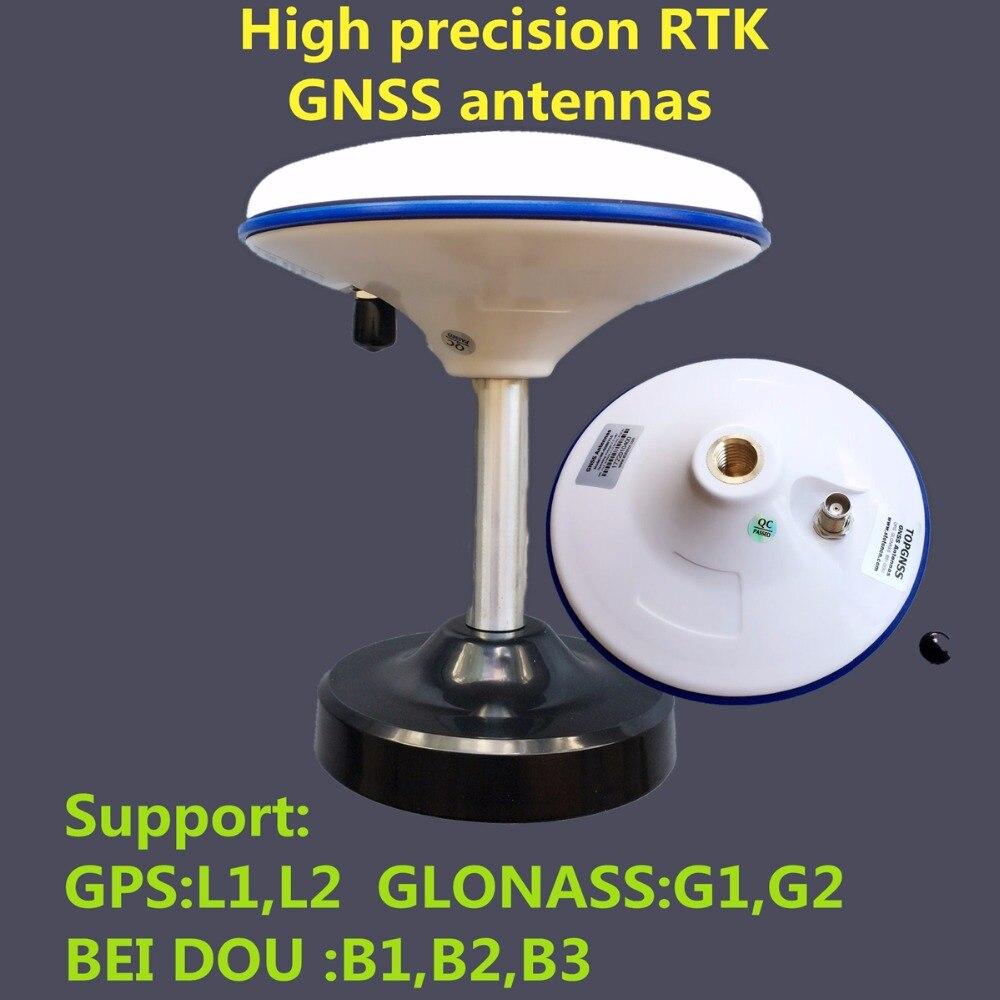 STOTON Haute-gain étanche haute-précision mesure GNSS RTK antenne, tout en soutenant GPS/Glonass/Beidou système