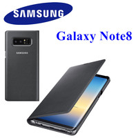 100 Original Samsung LED View Smart Cover Phone Case For Samsung Galaxy Note8 N950F EF NN950P