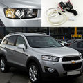 Para Chevrolet Captiva 2012 2013 2014 2015 2016 Excelente Ultrabright iluminação CCFL Angel Eyes kit de Halo Anel angel eyes