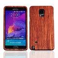 Original de madera para Samsung Galaxy Note 4 N9100 bambú contraportada de la batería de la cubierta de repuesto piezas de repuesto lechón para el regalo