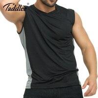 Taddlee Brand męska Koszula Bez Rękawów Kulturystyka Mięśni Ubrania Zbiornik Policzkowe Góry Gasp Mężczyźni Siłownia Podkoszulek Activewear t-shirty