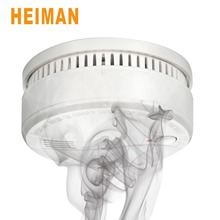 HEIMAN 1 PC 2 PC 3PC Smoke Detector Alarm with Replaceable Battery,Home Security Fire Sensor with Auto check function-622PS