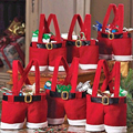 New Year Christmas Gift Bags Wedding Holiday Bag Candy Bags 2Pcs/Lots