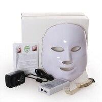 PDT Foton DOPROWADZIŁY Odmłodzenie skóry Usuwanie Zmarszczek Twarzy Maskę Elektryczny Urządzenie Anti-Aging Maska Terapia Beauty Machine