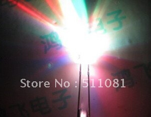 New Products And Rohs 5mm Rgb 7 Color Slow Flash Led led 50pcs 2pin 5mm Rgb 7 Color Slow Flash Led Light-emitting Diode