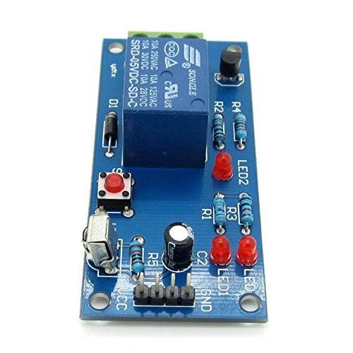 1PCS 5V 1 Channel Infrared Remote Control Relay Module Learning IR Switch ir dc 5v remote control switch 1 channel relay module board with 1 key infrared wirelesstransmitter ir01 jog
