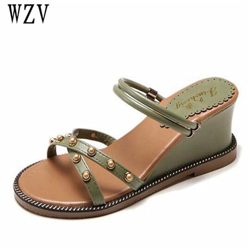 2018 New Summer Wedge Heels Women Sandals Open Toe Fish Head Platform Shoes High Heels Slingbacks Women Shoes B549 цена и фото