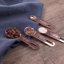 4 Pcs/Set Stainless Steel Measuring Scoop Kitchen Measuring Tools Sets For Baking Sugar Coffee Graduated Spoons cup