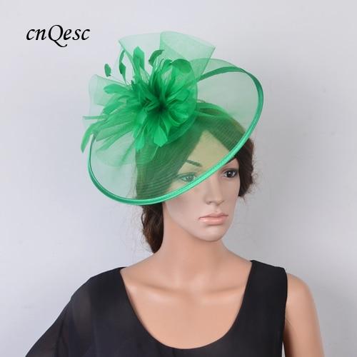 4b9ace1d0 HOT SALE] Sinamay Hats women's hat Fascinator crin fascinator w ...