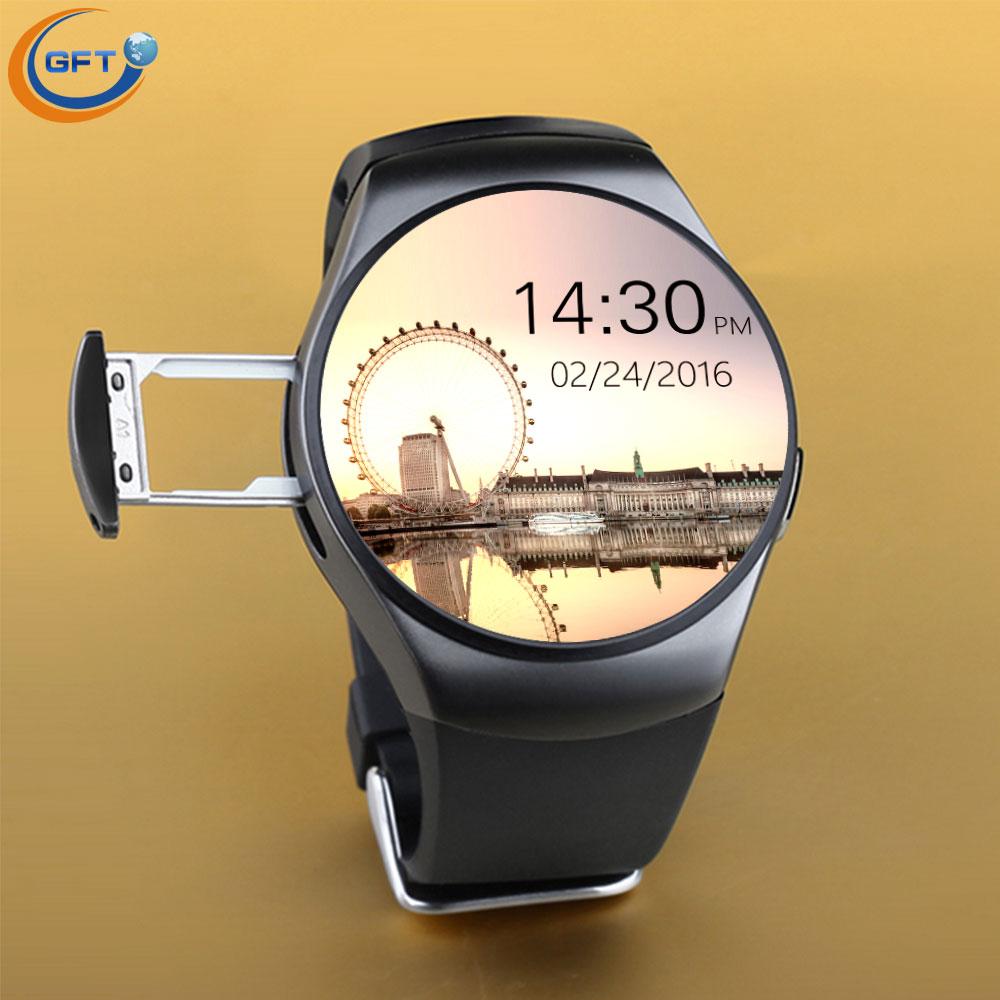 GFT kw18 smart watch Support SIM Card NFC Bluetooth font b smartwatch b font 1 3