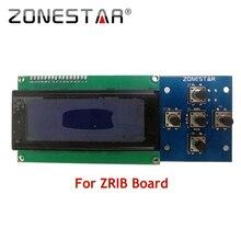 2004 ЖК-дисплей и 5 КЛАВИШИ КЛАВИАТУРЫ ZRIB доска RepRap 3D комплект принтера Менделя Prusa i3 5 КЛЮЧИ ZONESTAR P802N P802Q D807A