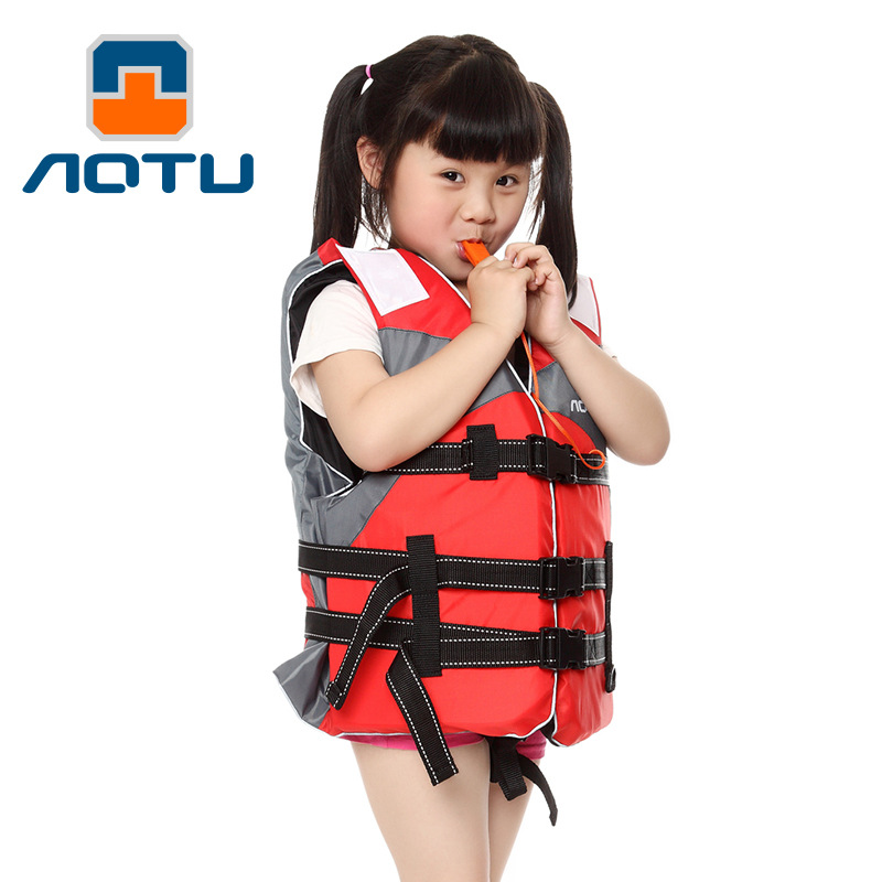 Concave and convex children increase professional swimming lifejacket rafting suits fishing suits buoyancy vest to send