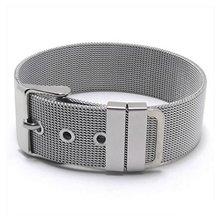 Female jewelry bracelet stainless steel bracelet silver