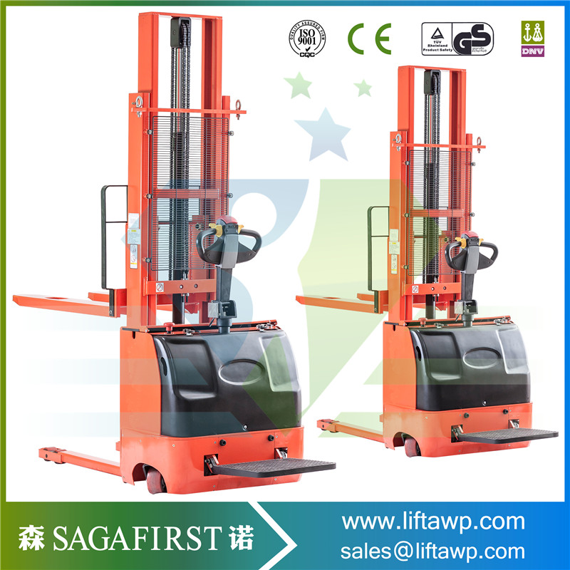full electric stacker 1-2 ton capacityfull electric stacker 1-2 ton capacity