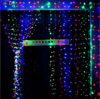IWHD 10X5M Garland LED Christmas Lights Outdoor 110/220V Christmas Decoration LED Curtain String Fairy Lights Cristmas New Year
